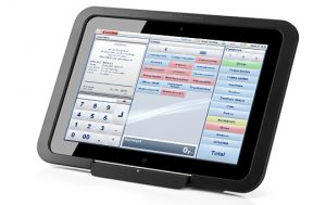 tablet kasse korona pos kassensoftware hp elitepad mobile retail hero